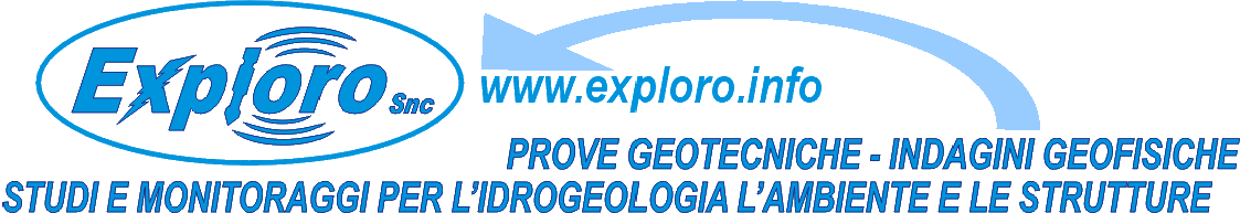EXPLORO SNC - Prove Geotecniche, Indagini Geofisiche, Studi e Monitoraggi per l'Ambiente e le Strutture